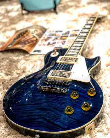 Tokai Love Rock Japan LS-128F IB in Indigo Blue