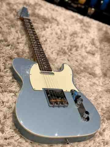 Tokai ATE-106B MH IBL/R Breezysound Vintage Series Japan in Ice Blue Metallic