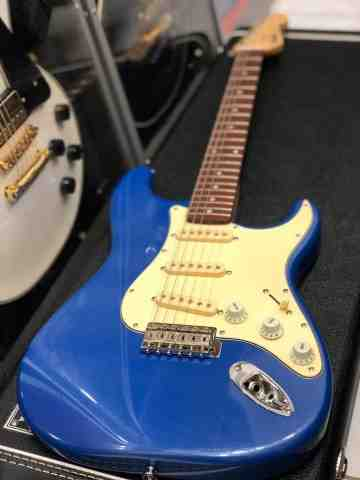 Tokai AST-52 LPB/CJ Goldstar Sound in Lake Placid Blue with Carbonized Jatoba FB