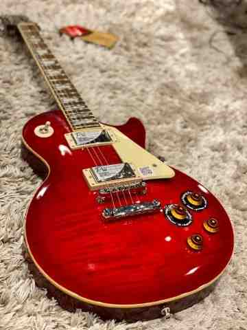 Epiphone Les Paul Standard Plustop Pro - Blood Orange