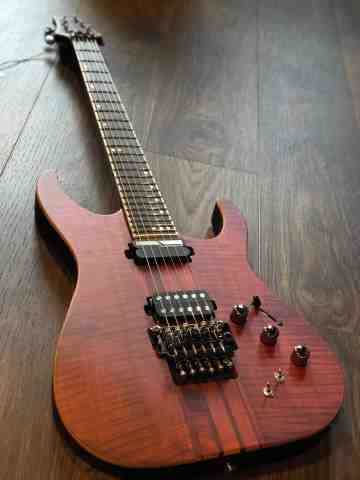 Schecter Banshee Elite 6 with Floyd Rose Cats Eye Pearl