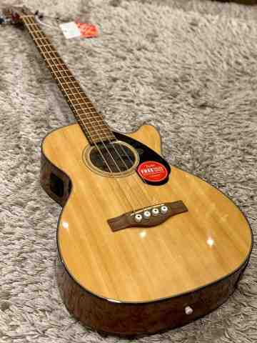 Fender CB-60SCE Acoustic Bass Natural