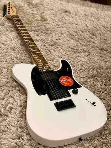 Squier Jim Root Signature Telecaster - Flat White