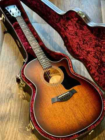 Taylor 324ce SEB V-Class Grand Auditorium in Shaded Edge Burst with Case