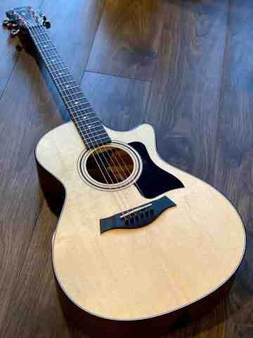 Taylor 312ce V-Class Grand Concert Acoustic Guitar with Case