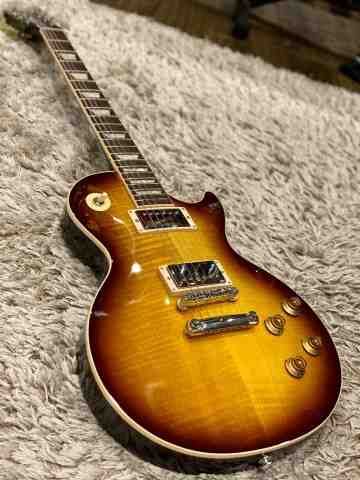 Gibson USA 2018 Les Paul Traditional Tobacco Sunburst Perimeter