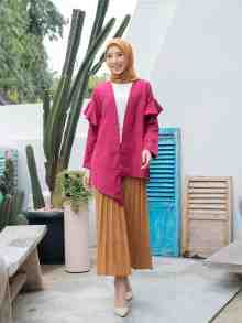 KAMILA OUTER PLUM SIZE L