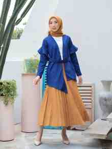 KAMILA OUTER NAVY SIZE S DEFECT
