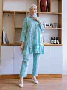 RAYYA SET MINT SIZE L