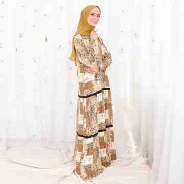 Meira Dress GOLD