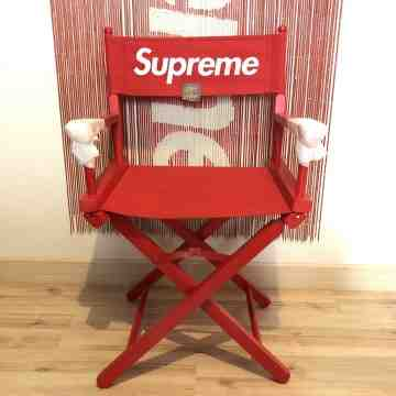 SS19 Supreme Director Chair Red