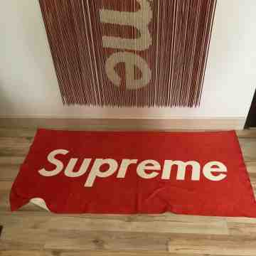 Supreme Towel Red