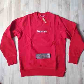 FW15 Supreme Crewneck Red