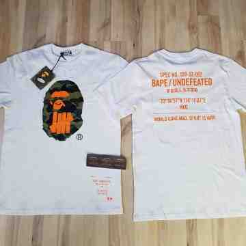 Bape x Undefeated Hongkong Special Edition White