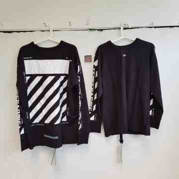 Off White Temperature Longsleeves