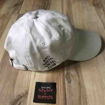 ASSC White Cap Black Text