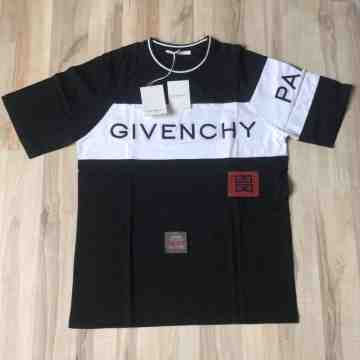 Givenchy Panelled Logo Tee