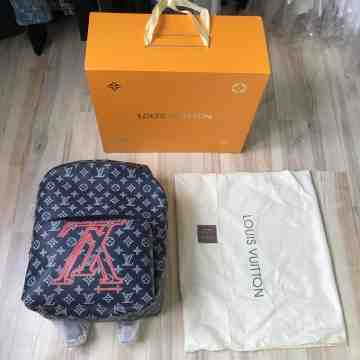 Louis Vuitton Apollo Upside Down Backpack Navy