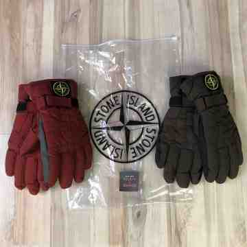 FW18 Stone Island Wool Gloves