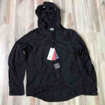 CP Company Chrome Black Goggle Lightweight Jacket