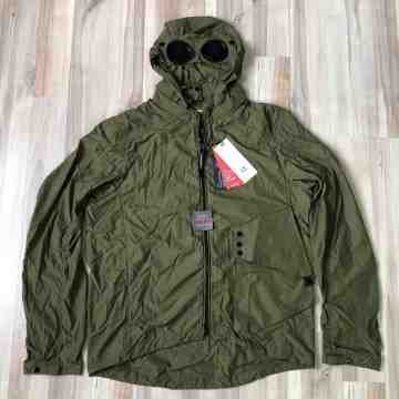CP Company Chrome Green Goggle Lightweight Jacket