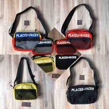 Places Faces Shoulder Bag
