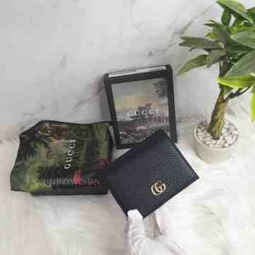 Gucci Wallet Leather Case Black