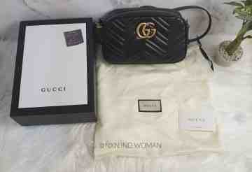 GG Marmont Small Metalasse Shoulder Bag