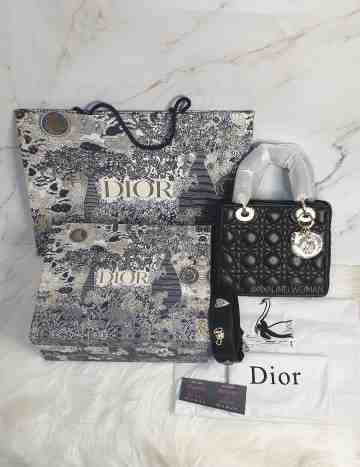 Lady Dior My ABCDior Lambskin Bag