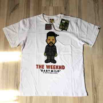 Bape x Xo The Weeknd White Tee