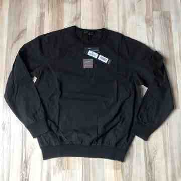 SS19 Stone Island Ghost Resin Crew Neck BlacK