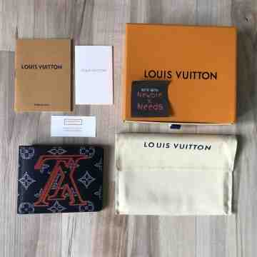 LV Apollo Upside Down Short Wallet