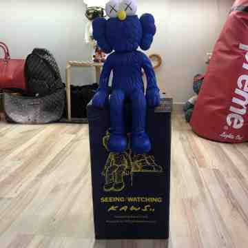 "Kaws BFF ""Seeing"" Blue"