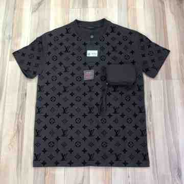 LV Hook and Loop Monogram Tee