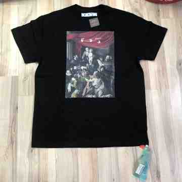 FW20 Off White Caravaggio Painting Tee