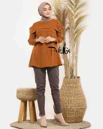 MARSYA BLOUSE - BROWN