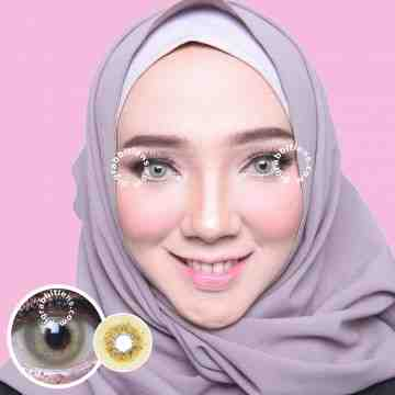 Dreamcolor1 Albertine Brown Softlens