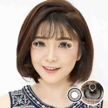 Dreamcolor1 Maki Grey Softlens