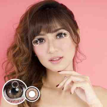 Dreamcolor1 Maki Brown Softlens