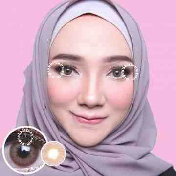 Dreamcolor1 Mini Lapis Brown Softlens