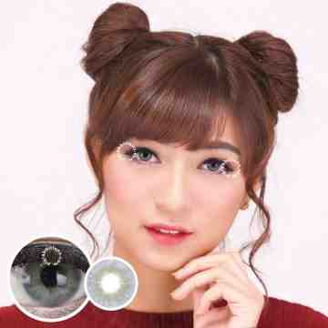 Dreamcolor1 Mini Lapis Grey Softlens