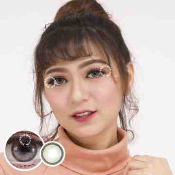 Dreamcolor1 Mini Monica Grey Softlens