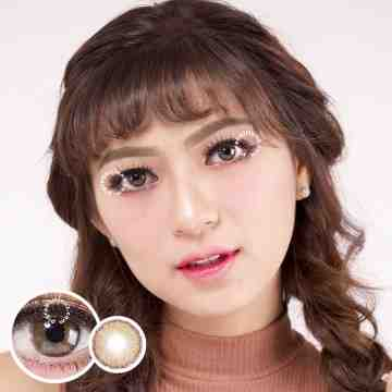 Dreamcolor1 Mini Nobluk Brown Softlens