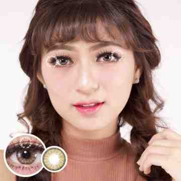Dreamcolor1 Mini Pony Brown Softlens