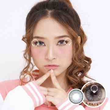 Dreamcolor1 Mini Pony Grey Softlens