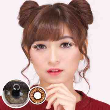 Dreamcolor1 Pear Brown Softlens