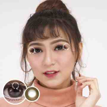 Dreamcolor1 Rock Choco Softlens