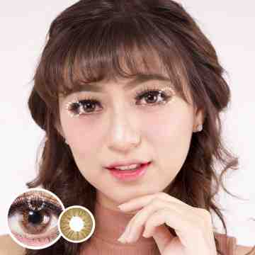 Dubai Brown Softlens