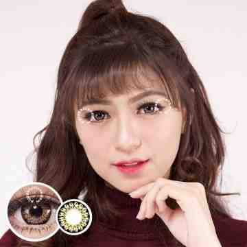 EOS 325 Brown Softlens