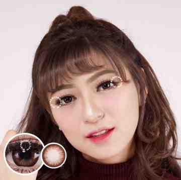 EOS Almond Brown Softlens
